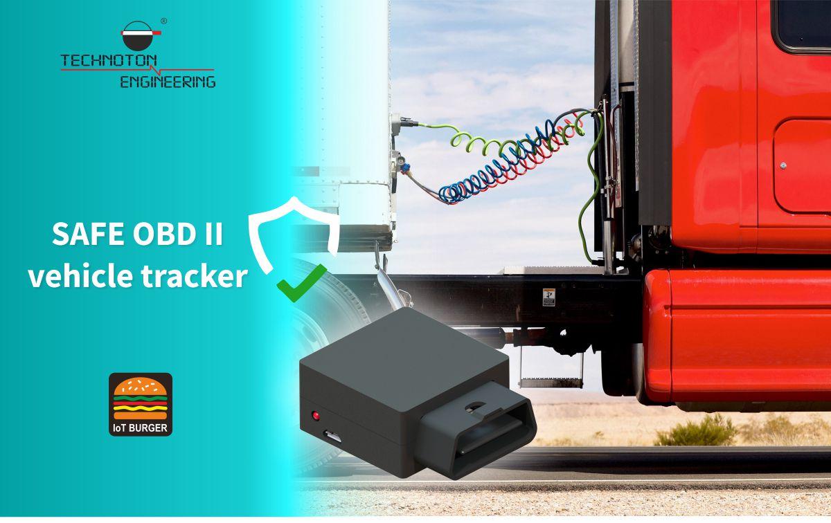 Safe OBD-II GPS tracker - Custom telematics solution