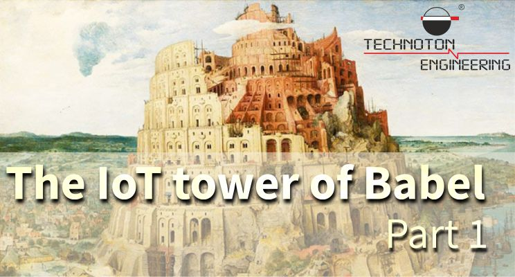 The IoT tower of Babel